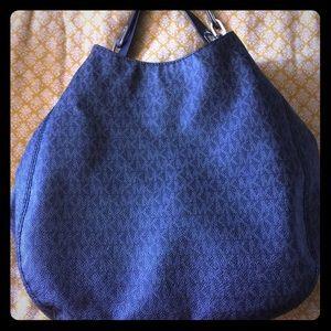 MK signature hobo style purse